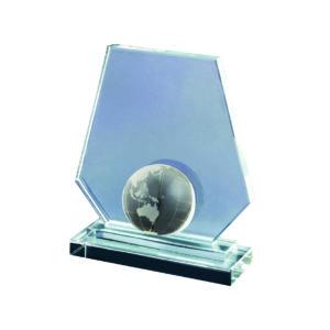 Crystal Globe Plaques CTIDG018 – Exclusive Crystal Globe Award