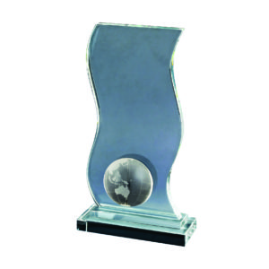 Crystal Globe Plaques CTIDG022 – Exclusive Crystal Globe Award