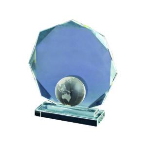 Crystal Globe Plaques CTIDG020 – Exclusive Crystal Globe Award
