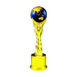 Globe Sculpture Trophies CTIMT128B – Blue Globe Sculpture