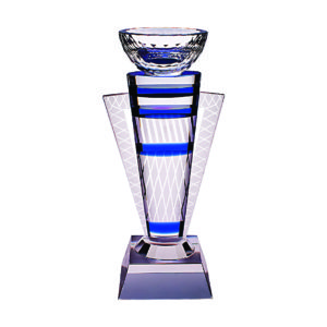 Fusion Color Crystal Awards CTICT066– Exclusive Glass Award