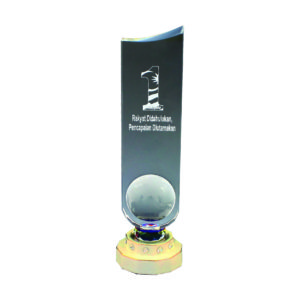 Crystal Globe Trophies CTICT058– Exclusive Crystal Globe Trophy