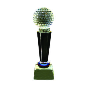 Golf Competition Crystal Trophies CTICT004– Exclusive Crystal Golf Trophy