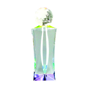 Crystal Globe Trophies CTICT014 – Exclusive Crystal Globe Trophy