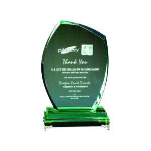 Elegant Jade Crystal Plaques CTIJP002 – Exclusive Crystal Jade Award