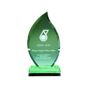 Elegant Jade Crystal Plaques CTIJP003 – Exclusive Crystal Jade Award