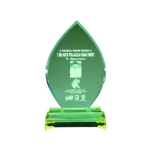 Elegant Jade Crystal Plaques CTIJP004 – Exclusive Crystal Jade Award