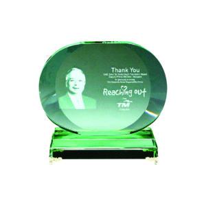Elegant Jade Crystal Plaques CTIJP007 – Exclusive Crystal Jade Award