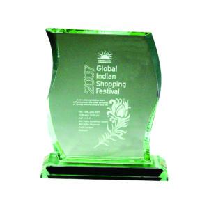Elegant Jade Crystal Plaques CTIJP009 – Exclusive Crystal Jade Award