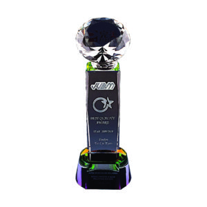 Beautiful Crystal Trophies CTICC001 – Exclusive Crystal Trophy