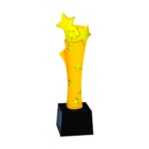 Star Sculpture Trophies CTIFF302 – Golden Star Sculpture