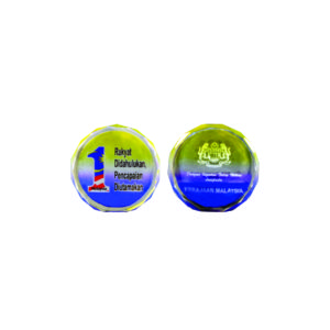 Crystal Paper Weights CTICM001 – Exclusive Crystal Paper Weight