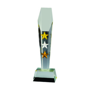 Star Crystal Trophies CTICA331 – Exclusive Crystal Star Trophy