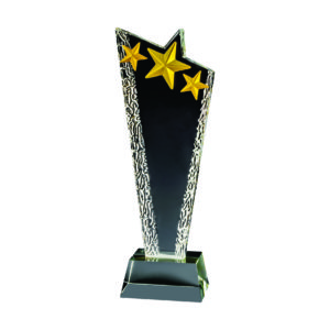 Star Crystal Trophies CTICA337 – Exclusive Crystal Star Trophy