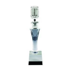 Singing Competition Crystal Trophies CTICT524 – Exclusive Singing Crystal Trophy