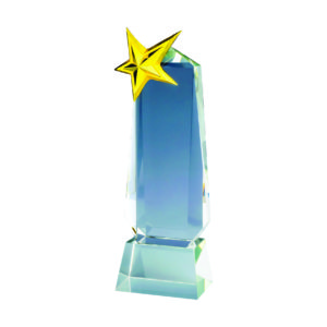 Star Crystal Trophies CTICP279 – Exclusive Crystal Star Trophy