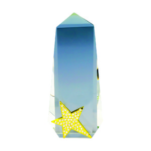 Star Crystal Trophies CTICP280 – Exclusive Crystal Star Trophy