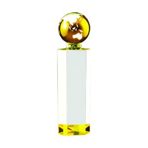 Crystal Globe Plaques CTICT138 – Exclusive Crystal Globe Award