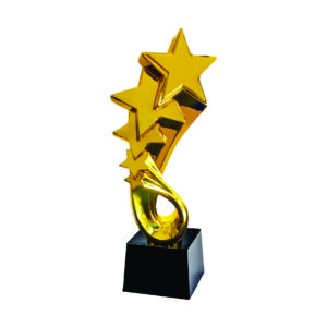 Star Sculpture Trophies CTIFF217 – Golden Star Sculpture