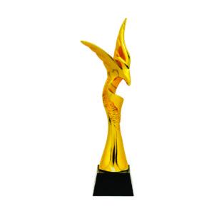 Beautiful Sculpture Trophies CTIFF138 – Golden Eagle Sculpture
