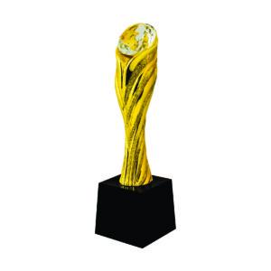 Beautiful Sculpture Trophies CTIFF145 – Golden Diamond Sculpture