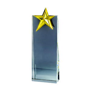 Star Crystal Plaques CTICA359 – Exclusive Crystal Star Award