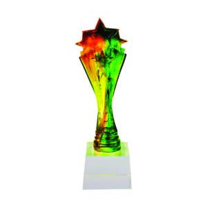 Liuli Sculpture Trophies CTISL101 – Hand Crafted Water Luili Sculpture