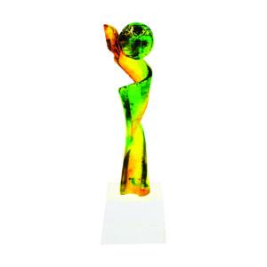 Liuli Sculpture Trophies CTISL102 – Hand Crafted Water Luili Sculpture