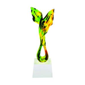 Liuli Sculpture Trophies CTISL103 – Hand Crafted Water Luili Sculpture