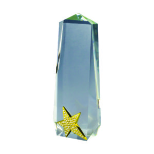Star Crystal Plaques CTICA031 – Exclusive Crystal Star Award
