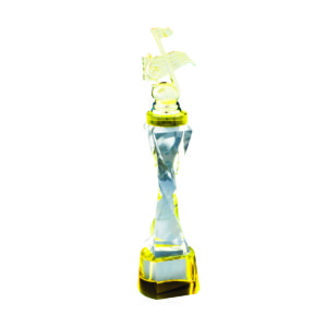 Singing Competition Crystal Trophies CTICT793 – Exclusive Singing Crystal Trophy