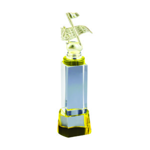 Singing Competition Crystal Trophies CTICT795 – Exclusive Singing Crystal Trophy