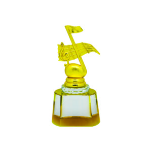 Singing Competition Crystal Trophies CTICT796 – Exclusive Singing Crystal Trophy