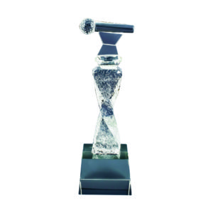 Singing Competition Crystal Trophies CTICT136 – Exclusive Singing Crystal Trophy