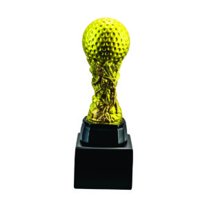 Golf Tournament Acrylic Trophies CTIFF002G – Exclusive Golf Trophy