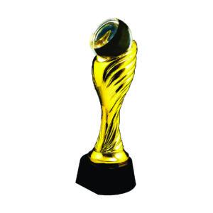 Beautiful Crystal Trophies CTEAA118G – Exclusive Crystal Trophy