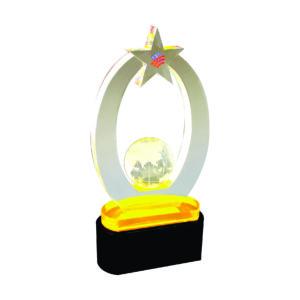 Custom Made Acrylic Plaques CTEAA045 – Exclusive Acrylic Award