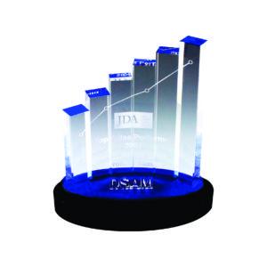 Custom Made Acrylic Plaques CTEAA041 – Exclusive Acrylic Award