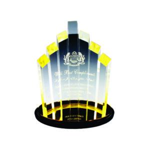 Custom Made Acrylic Plaques CTEAA047 – Exclusive Acrylic Award