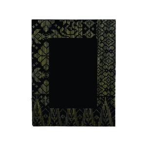 Modern Songket Plaques CTIWW022 – Exclusive Wooden Songket Frame