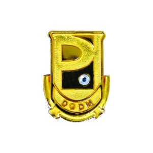 Gemstone Awards CTCMP007 – Exclusive Pewter Collar Pin