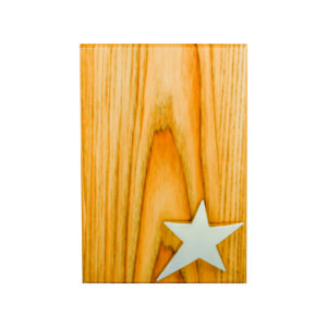 Wooden Plaques with Stars CTIWW628 – Exclusive Special Wooden Star Plaque