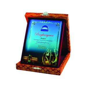 Wooden Boxes Songket Plaques CTICP094 – Exclusive Special Wooden Songket Boxes