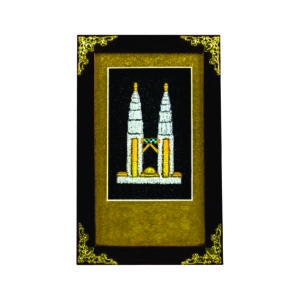 Special Songket Plaques CTIMB110 – Exclusive Songket Plaque