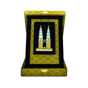 Special Songket Plaques CTIMB200 – Exclusive Songket Plaque Box