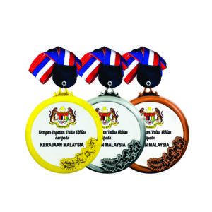 Round LED Medals CTICM044 – Exclusive LED Medal