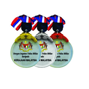 Beautiful Crystal Medals CTICM040 – Exclusive Crystal Medal
