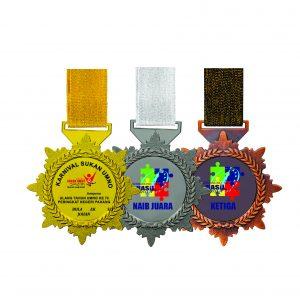 Beautiful Metal Medals CTIRM028 – Exclusive Metal Medal (Back)