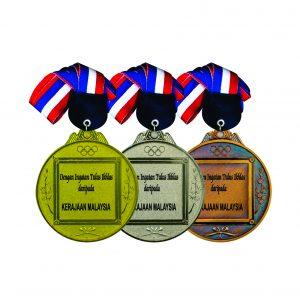 Beautiful Metal Medals CTIRM014 – Exclusive Metal Medal (Front)