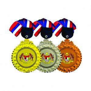 Beautiful Metal Medals CTIRM017 – Exclusive Metal Medal (Front)